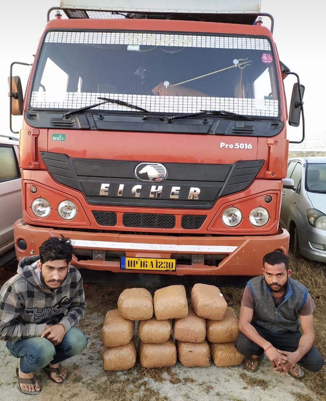 जगदलपुर : 55 किलो गांजा सहित दो गांजा तस्कर गिरफ्तार