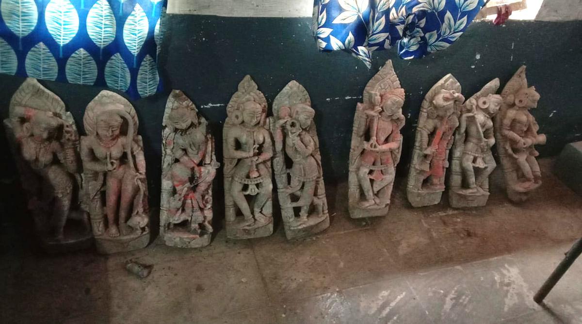 गढख़ंखई माताजी के इर्द-गिर्द खुदाई में मिले 12 सौ वर्ष पुराने मंदिर के अवशेष