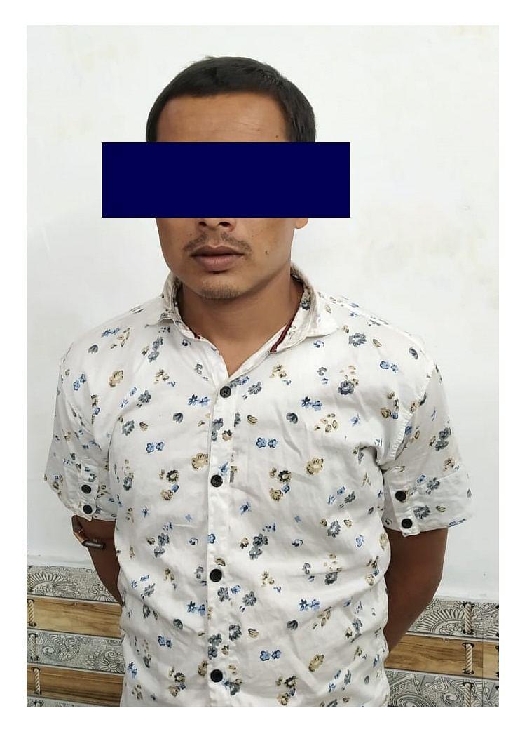 ठगी करने वाले जामताड़ा गिरोह का सदस्य चढ़ा पुलिस के हत्थे