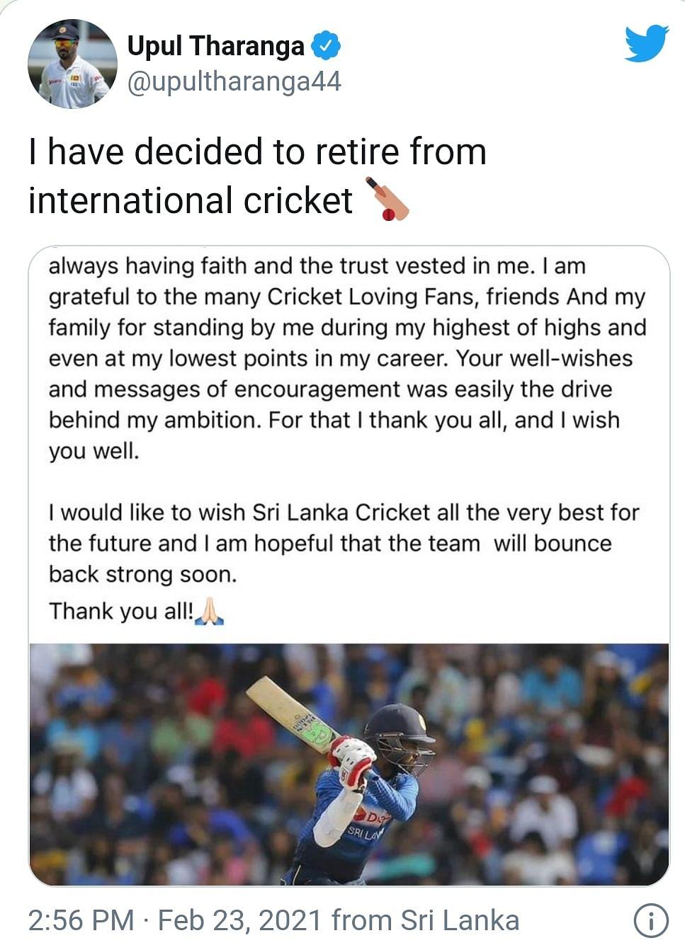 sri-lankan-batsman-upul-tharanga-retired-from-international-cricket