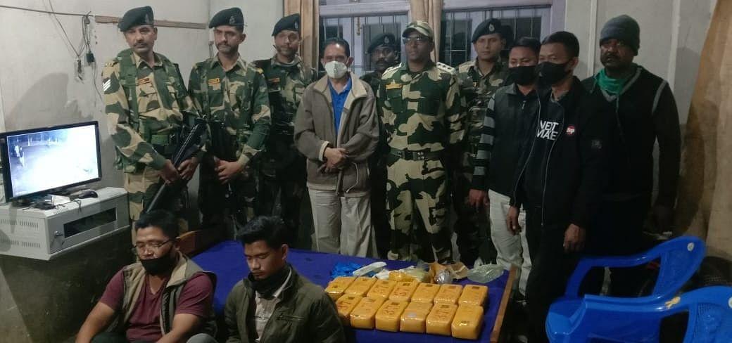मिजोरम के वैरांगटी से 07.29 करोड़ रु. का याबा टैबलेट जब्त, दो तस्कर गिरफ्तार