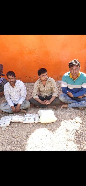 एनसीबी ने गंगरार में लाखों की स्मेक पकड़ी, केरियर, सप्लायर व रिसीवर गिरफ्तार