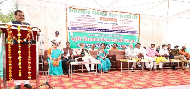 madhya-pradesh-gets-krishi-karman-award-credit-only-to-farmers-and-agricultural-scientists-mp-sharma