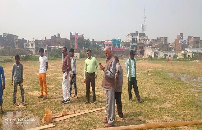 बलरामपुर में खिलाड़ियों की स्मृति में राज्यस्तरीय फुटबॉल टूर्नामेंट 01 मार्च से