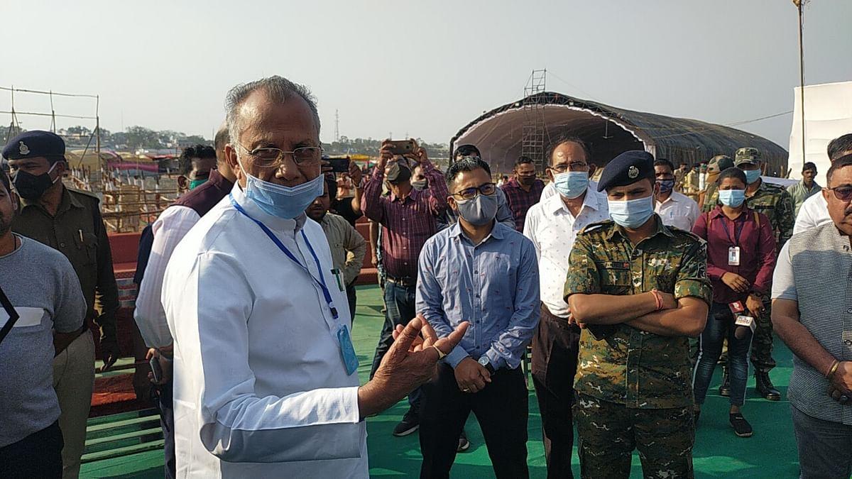 रायपुर : राजिम माघी पुन्नी मेला : धर्मस्व मंत्री साहू ने की तैयारियों की समीक्षा