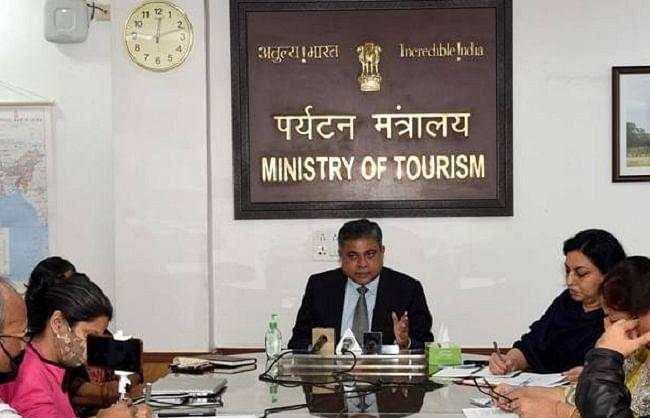 नई पर्यटन नीति पर राज्यों से मांगे गए सुझाव, जल्द लाई जाएगी नीति: अरविंद सिंह