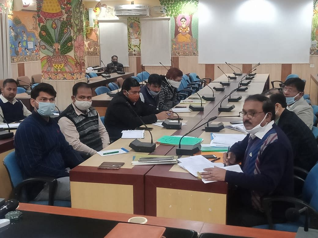 पंचायत व पैक्स चुनाव की तैयारी को लेकर बैठक आयोजित