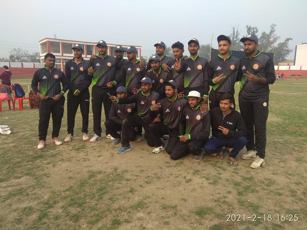 राजकुमार शुभेश्वर सिंह मेमोरियल क्रिकेट प्रतियोगिता के दूसरे दिन पटना व भागलपुर की टीम विजयी