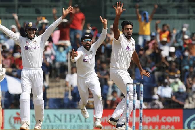 चेन्नई टेस्ट : इंग्लैंड की पहली पारी 134 पर सिमटी, भारत को 195 रन की बढ़त