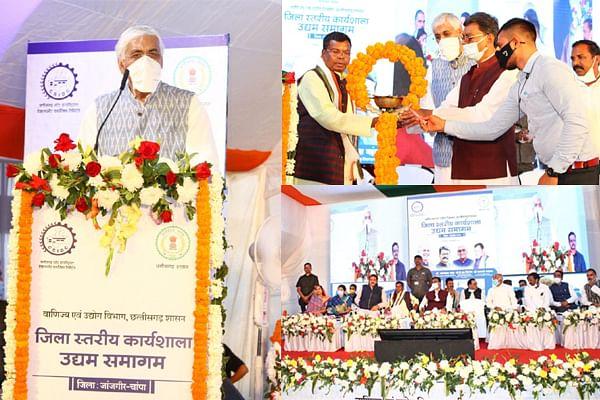 रायपुर : ग्राम में ऐसी इकाइयां बने जो कम से कम 500 लोगों को रोजगार उपलब्ध करा सके : टीएस सिंहदेव