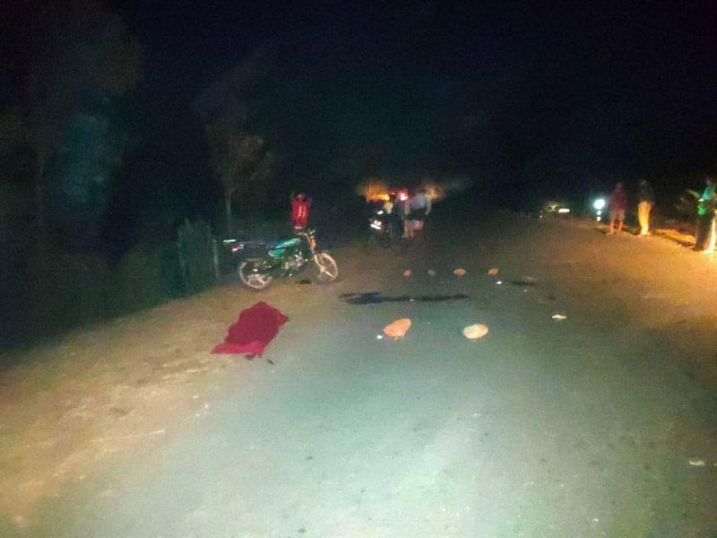 दंतेवाड़ा : अज्ञात वाहन ने मोटरसाइकिल सवार को मारी टक्कर एक की मौत, एक गंभीर