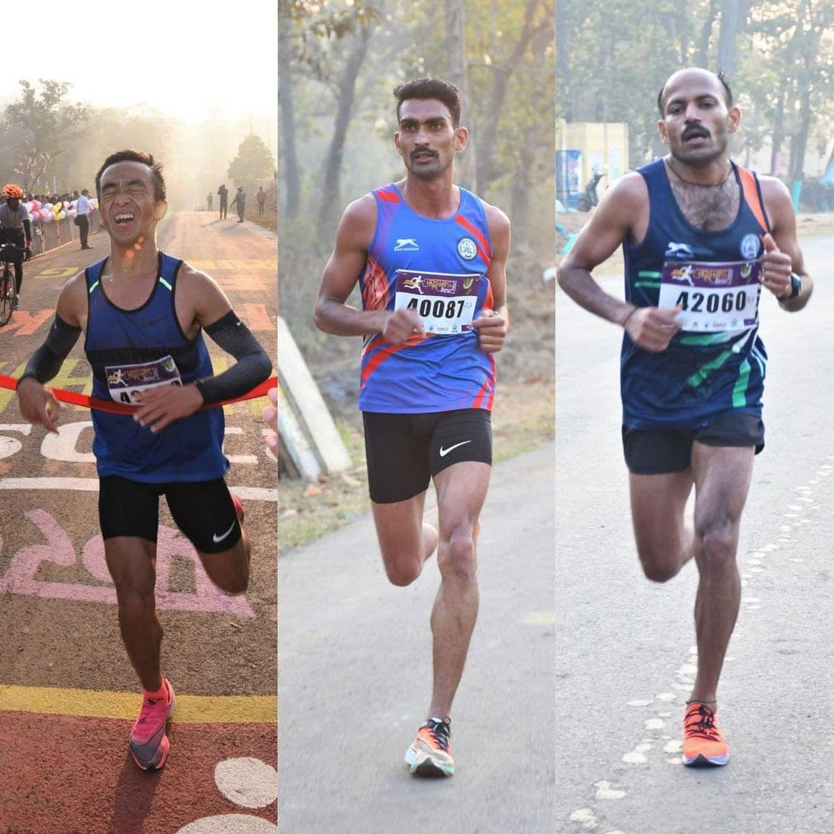 नारायणपुर : अबूझमाड़ पीस हाफ मैराथन में दौड़े हजारों धावक