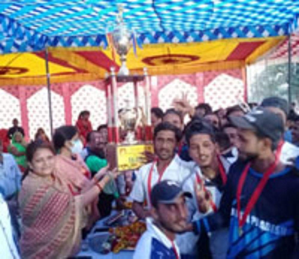 खेल से आपसी सद्भाव बढ़ता है : मंत्री मीना सिंह