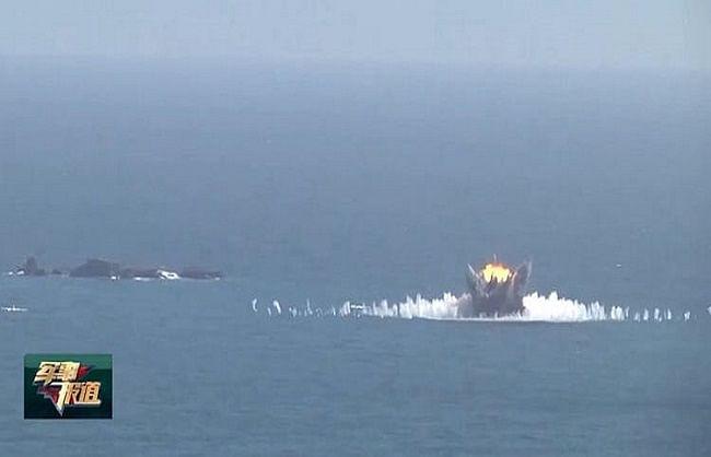 दक्षिण चीन सागर में बम बरसाकर ताइवान और अमेरिका को चीन ने दी खुली चुनौती