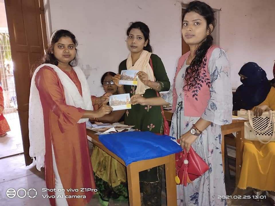 राम मंदिर निर्माण में छात्रों का अंशदान लेने के लिए आरा में एबीवीपी ने चलाया अभियान