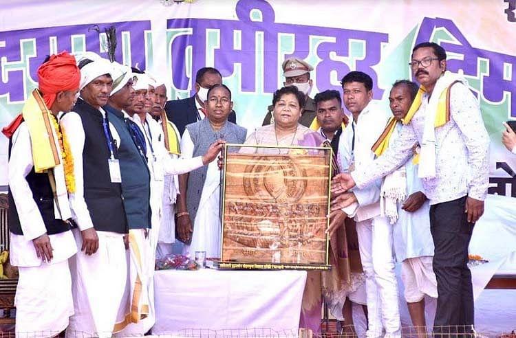 रायपुर : समाज को जागरूक करें, संगठित करें, विघटनकारी तत्वों से रहें सावधान : उइके