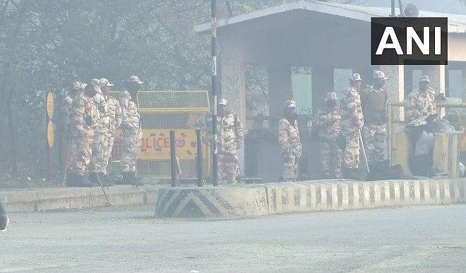 चक्का जाम: दिल्ली एनसीआर में सुरक्षा के कड़े इंतजाम, चप्पे-चप्पे पर जवानों की तैनाती