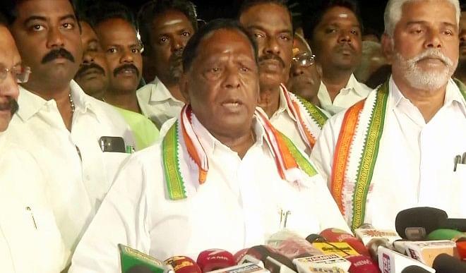 नारायणसामी के इस्तीफे के बाद पुडुचेरी में राष्ट्रपति शासन, केंद्रीय मंत्रिमंडल ने दी मंजूरी