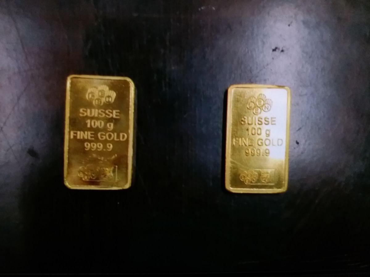 जयपुर अंतरराष्ट्रीय हवाई अड्डे पर 10 लाख का सोना पकड़ा