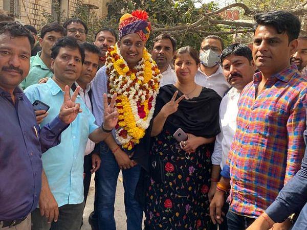 राजस्थान हाईकोर्ट बार एसोसिएशन चुनाव: अध्यक्ष पद पर भुवनेश शर्मा 55 वोटों से जीते