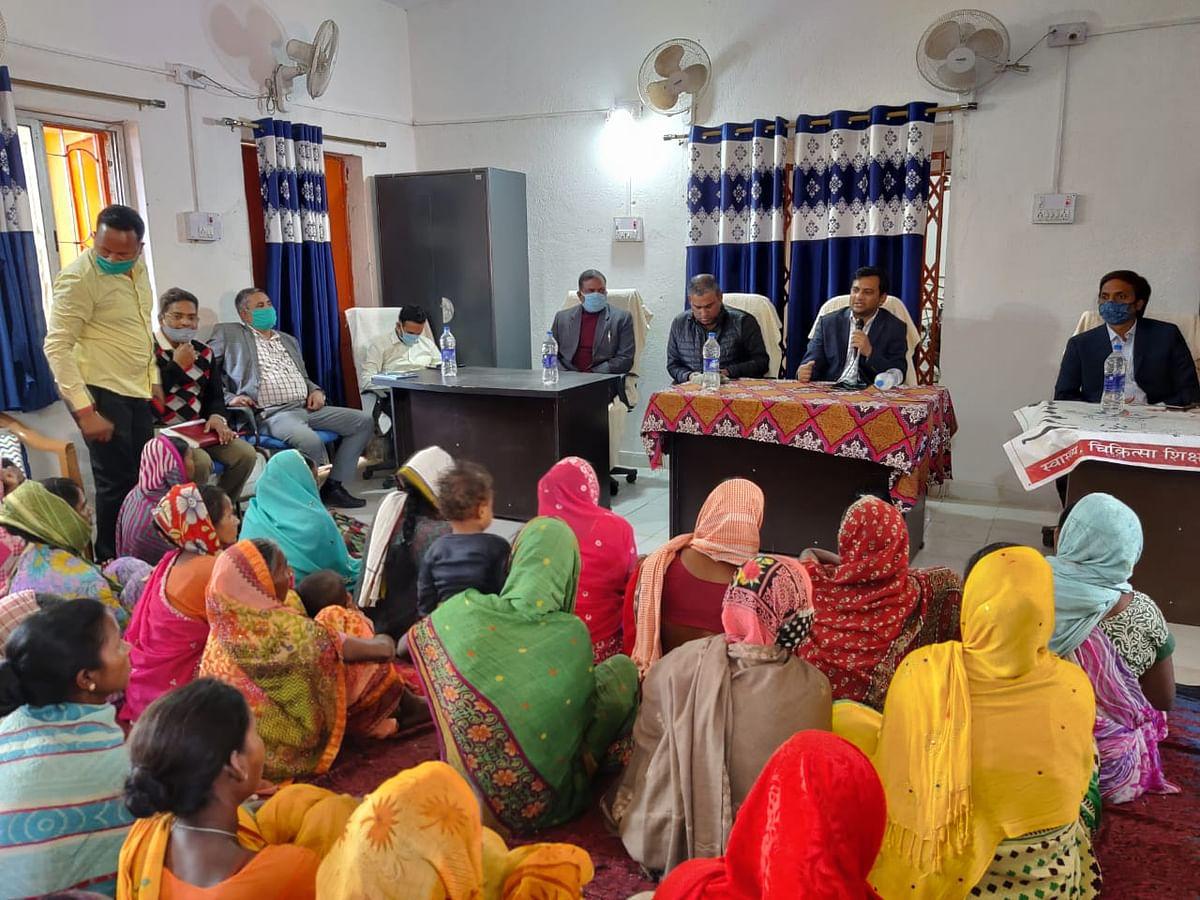 ग्रामीण क्षेत्रों का विकास व सकारात्मक वातावरण का निर्माण हमारा उद्देश्य: शशि रंजन