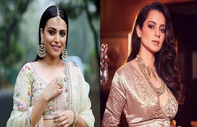 kangana-ranaut-gave-a-befitting-reply-to-swara-bhaskar