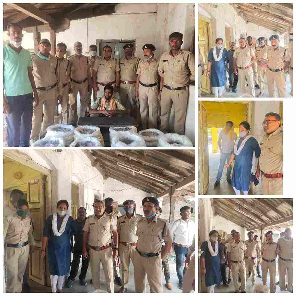 excise-department39s-action-three-thousand-two-hundred-fifty-pouches-mahua-liquor-confiscated