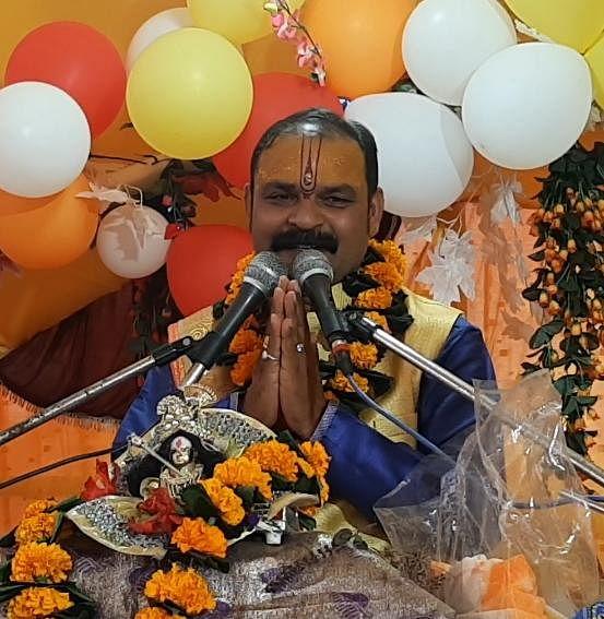 कोरबा : ग्राम रलिया में संगीतमय श्रीमद् भागवत महापुराण ज्ञान यज्ञ का आठवां दिन, भगवान श्री कृष्णा व रुक्मणी विवाह हुआ