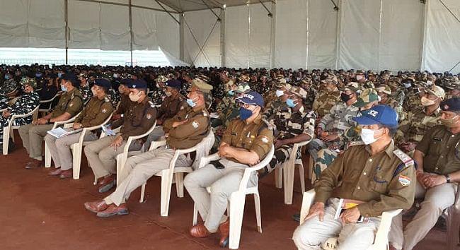 माघ पूर्णिमा स्नान के लिए कुंभ मेला पुलिस तैयार