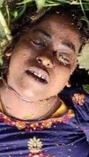 भदोही :  खेत मिला युवती का शव, हत्या की आशंका