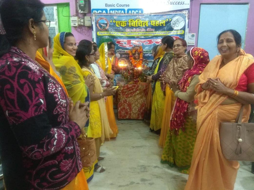 धूमधाम से मनाई विद्या की देवी मां सरस्वती जी जयंती