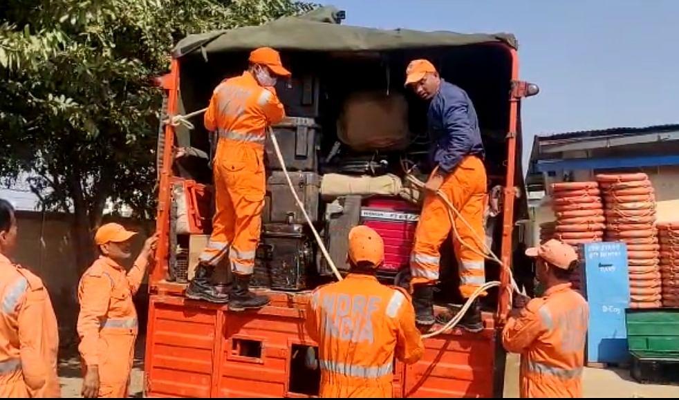चमोली घटना : गाजियाबाद एनडीआरएफ की टीमें उत्तराखंड रवाना