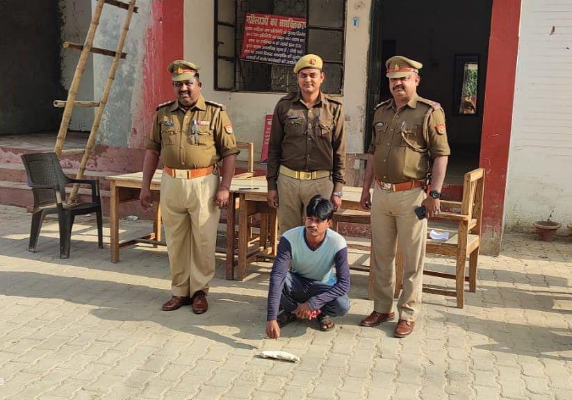 बलरामपुर :  गैंगस्टर एक्ट में वांछित 10 हजार का इनामी गिरफ्तार
