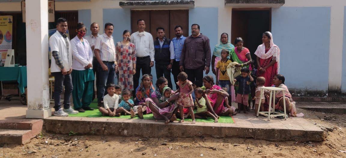 कोण्डागांव:जिले में  5 वर्ष के  बच्चों को पिलाई गई  पोलियो की दवा