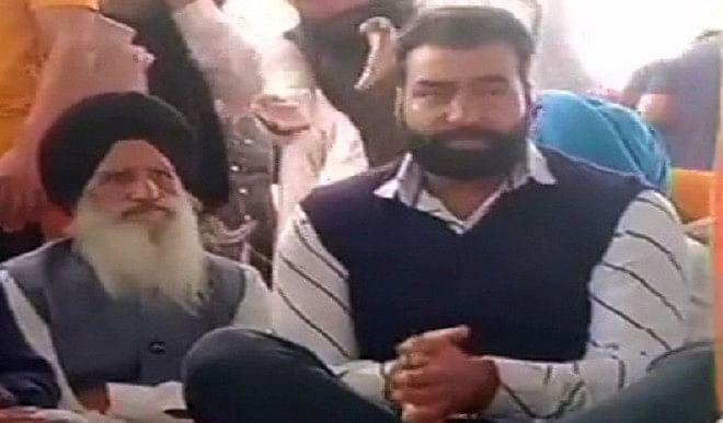 बठिंडा की किसान रैली में नजर आया लक्खा सिधाना, कहा- अगर दिल्ली पुलिस आए तो उनका घेराव करें