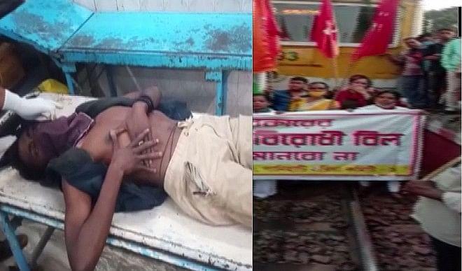 नॉर्थ 24 परगना  में बीजेपी कार्यकर्ताओं पर हमला, TMC पर आरोप