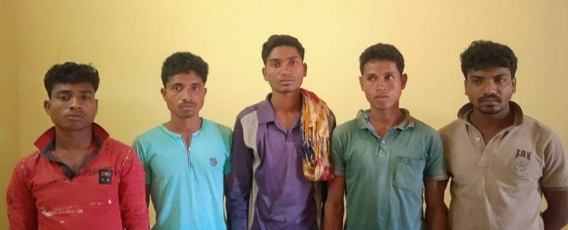 bijapur-five-naxalites-involved-in-murder-arson-incident-arrested