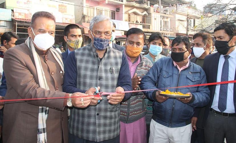 मुख्यमंत्री ने मसूरी के लोगों को दी करोड़ों रुपये की विकास योजनाओं की सौगात