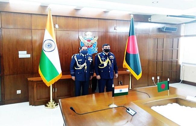 वायुसेना प्रमुख ने मजबूत किये बांग्लादेश से दोस्ताना सम्बन्ध
