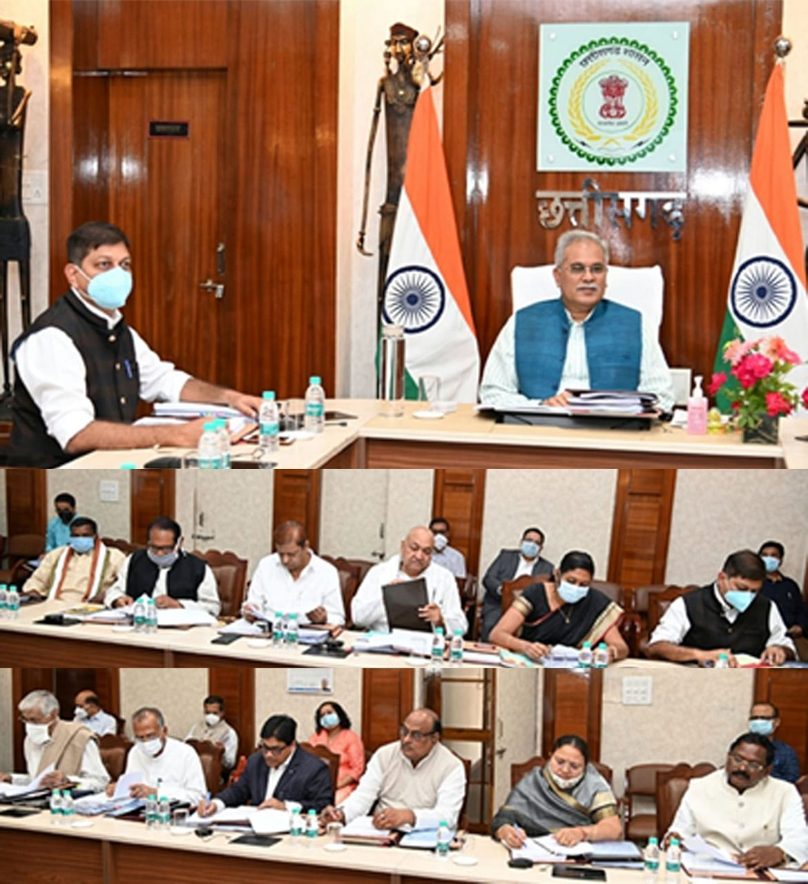 raipur-many-important-decisions-taken-in-bhupesh-council-of-ministers-meeting