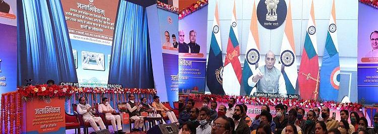 'जलाभिषेकम्' स्थानीय ही नहीं बल्कि राष्ट्रीय महत्व का कार्यक्रम : राजनाथ