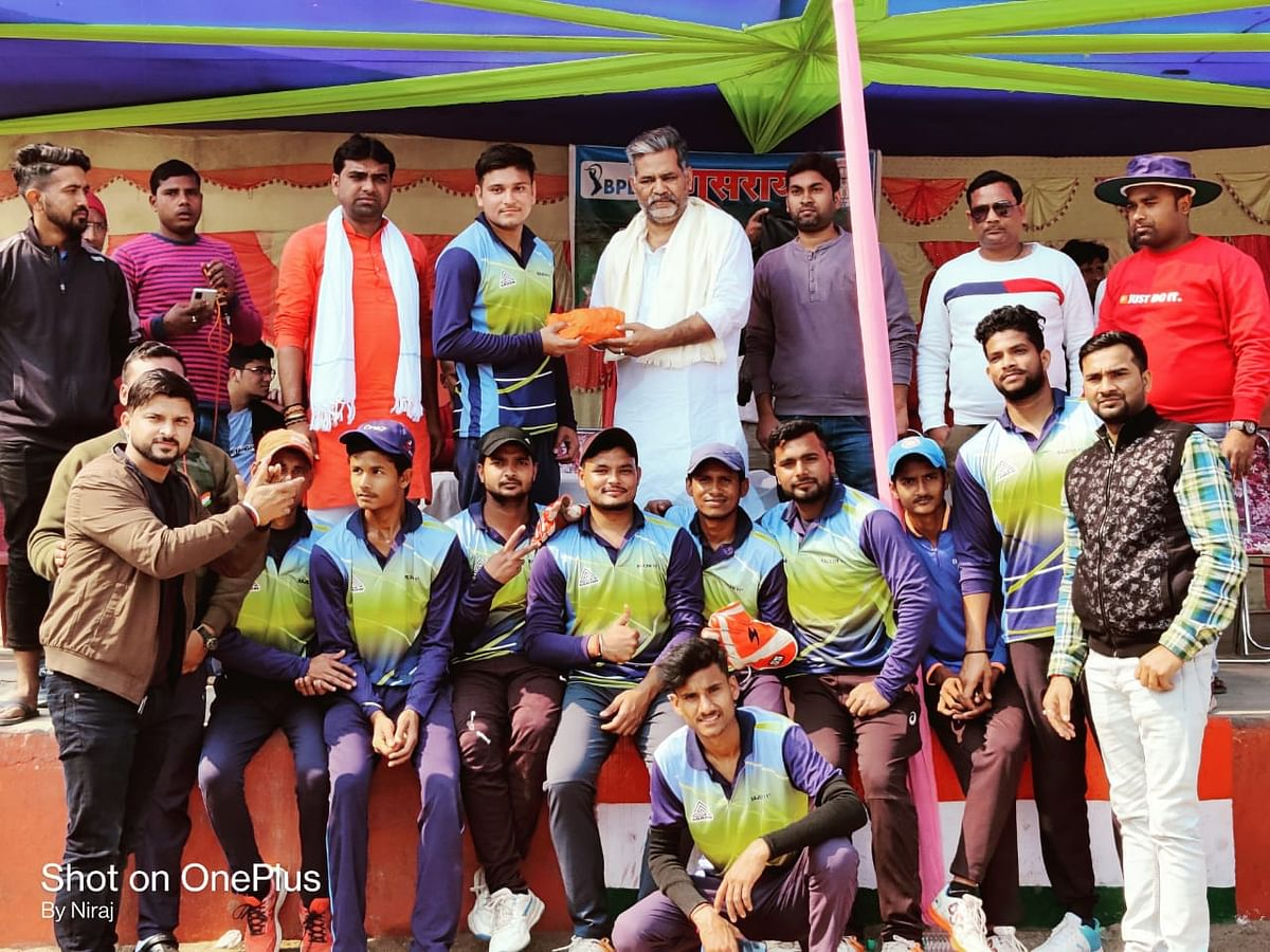 बीपी रॉयल्स ने तेघड़ा वॉरियर्स को 30 रनों से किया पराजित