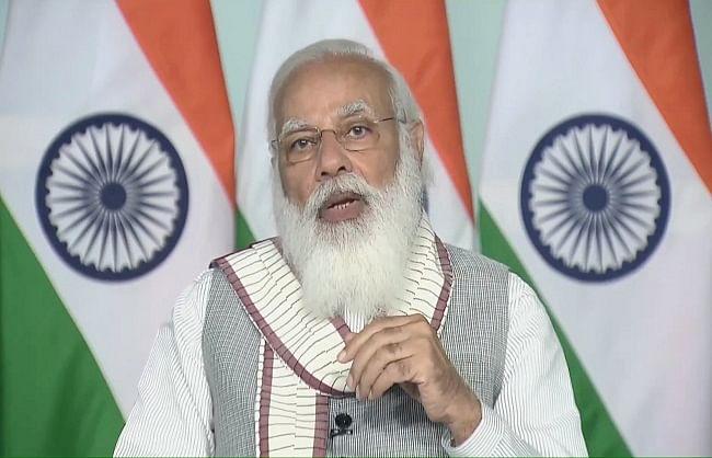 भारत को स्वस्थ रखने के लिए सरकार चार मोर्चों पर एक साथ कर रही है कामः पीएम मोदी
