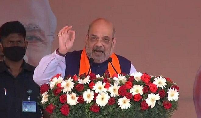 पुडुचेरी में शाह ने राहुल पर साधा निशाना, बोले- दो साल पहले देश में मत्स्य पालन विभाग हो चुका है शुरू