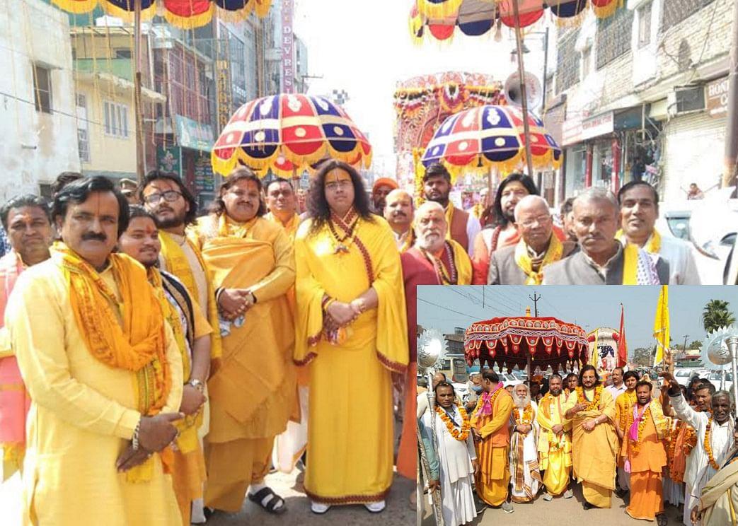vrindavan-saint-mahants-took-out-a-grand-procession