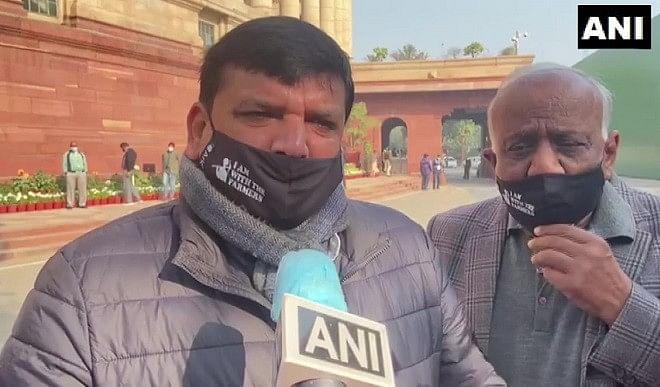 सस्पेंड से हमें फर्क नहीं पड़ने वाला है, किसानों के हक में आवाज़ उठाते रहेंगे: संजय सिंह