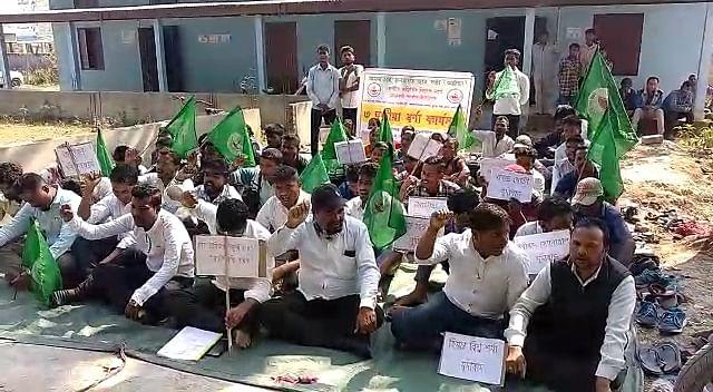 चाय छात्र संगठन ने विभिन्न मांगों को लेकर दिया धरना