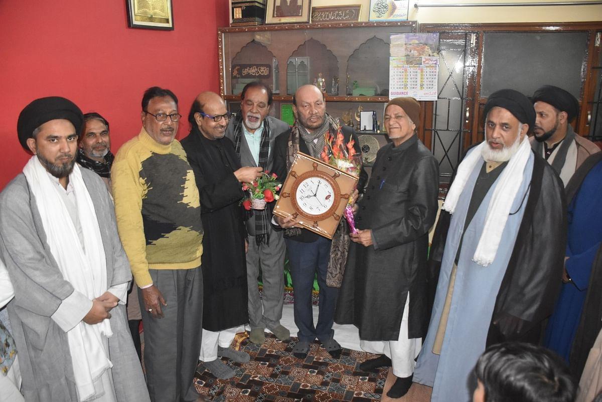 जनाब ए फातिमा की विलादत शिया समुदाय ने उत्साह से मनाया