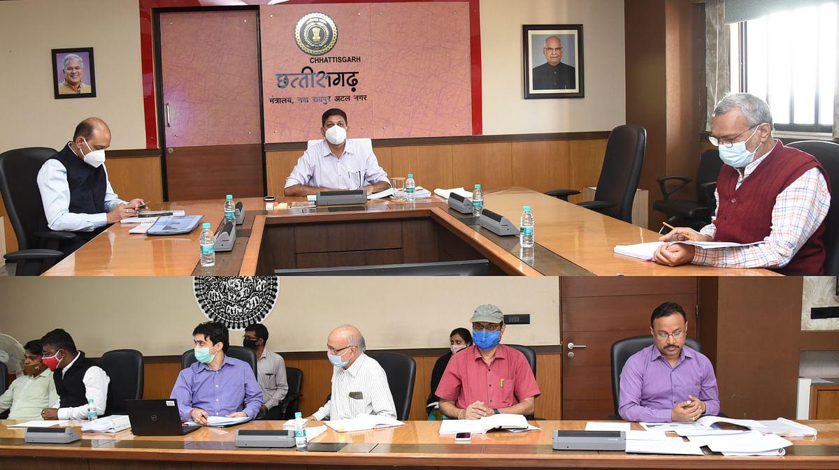 रायपुर :  सूचना प्रौद्योगिकी क्षेत्र में निवेश प्रोत्साहन बढ़ाने सशक्त समिति की दसवीं बैठक सम्पन्न