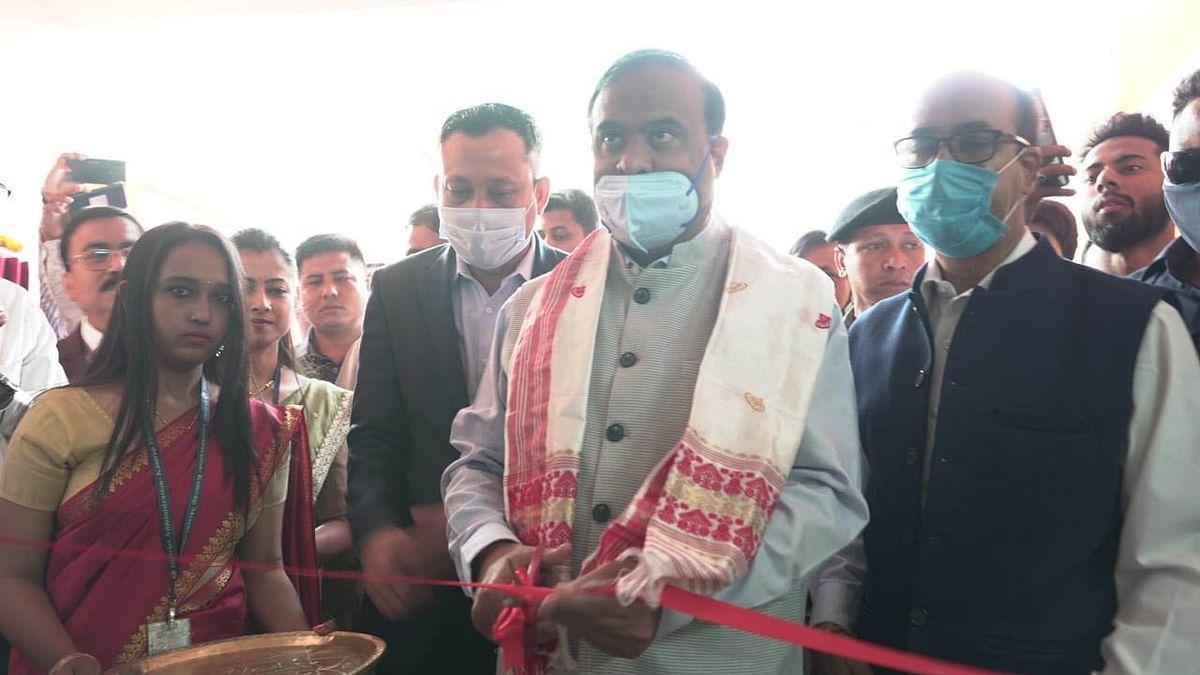 मंत्री डॉ विश्वशर्मा ने गुवाहाटी में कोषागार कार्यालय का किया उद्घाटन